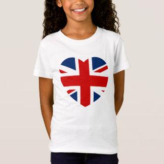 Het gevormde Hart van de Vlag van Union Jack
