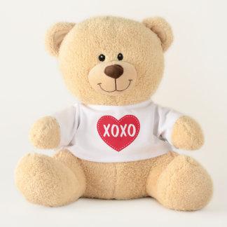 Het Gevulde Dier van de Valentijnsdag XOXO Knuffelbeer