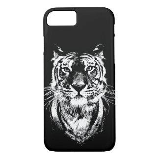 Het geweldige portret van de tijgerkat. Het wild iPhone 8/7 Hoesje