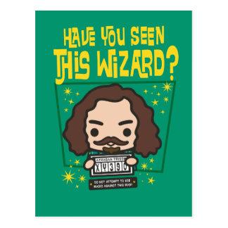 Het Gewilde Grafische Poster van Sirius van de Briefkaart