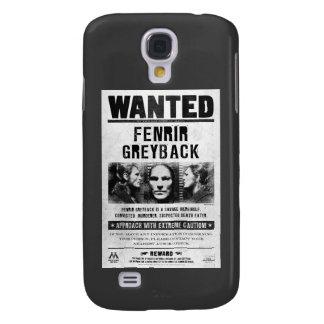 Het Gewilde Poster van Fenrir Greyback Galaxy S4 Hoesje