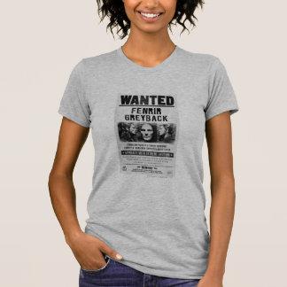 Het Gewilde Poster van Fenrir Greyback T Shirt