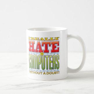 Het Gezicht van de Haat van computers Koffiemok