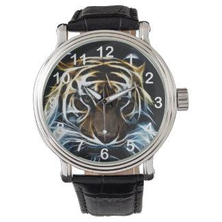 Het gezicht van de tijger horloges