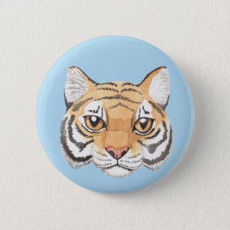 Het Gezicht van de tijger Ronde Button 5,7 Cm