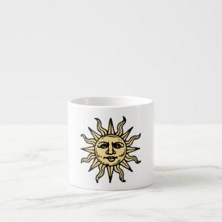 Het Gezicht van de zon Espresso Kop