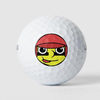 Het Gezicht van het honkbal Golfballen