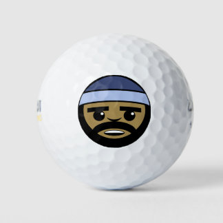 Het Gezicht van het rap Golfballen
