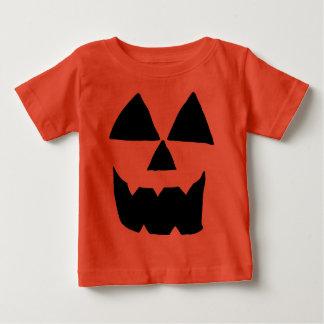 Het Gezicht van Jackolantern Baby T Shirts