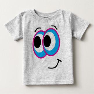 Het Gezicht van Smiley Baby T Shirts