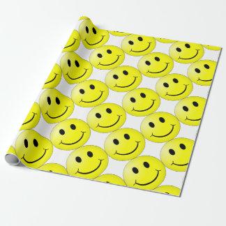 Het Gezicht van Smiley Cadeaupapier