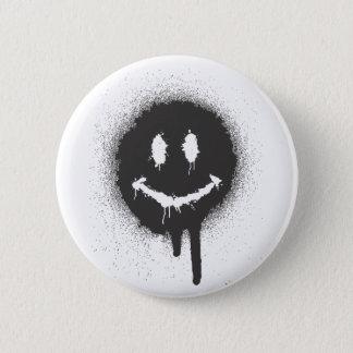 Het Gezicht van Smiley Ronde Button 5,7 Cm