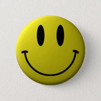 Het gezichtsKnoop van Smiley Ronde Button 5,7 Cm