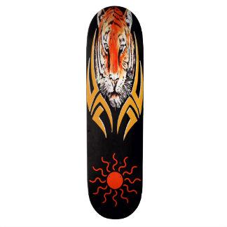 Het gezichtsskateboard van de tijger skateboard