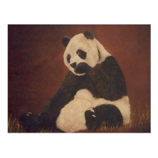 Het Giechelen van de panda het Materiaal van de Briefkaart