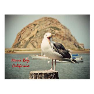 Het gillen de Baai van Morro van de Zeemeeuw, Briefkaart