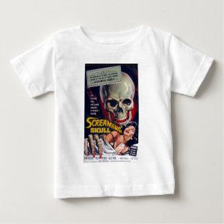 Het gillen Schedel Baby T Shirts