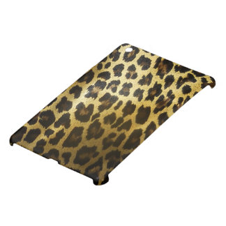 Het glanzende Gouden Bont van de Luipaard iPad Mini Hoesje