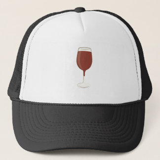 Het Glas van de wijn Trucker Pet