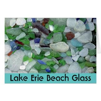 Het Glas van het Strand van Erie van het meer Kaart