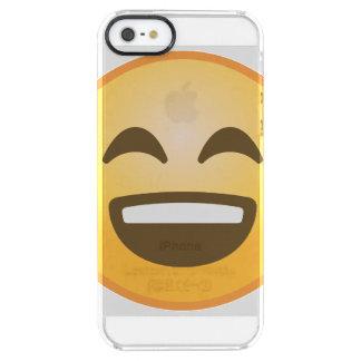 Het glimlachen Emoji Doorzichtig iPhone SE/5/5s Hoesje