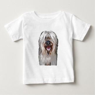 Het glimlachen Fawn Briard Baby T Shirts