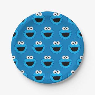 Het glimlachen het Patroon van het Monster van het Papieren Bordje