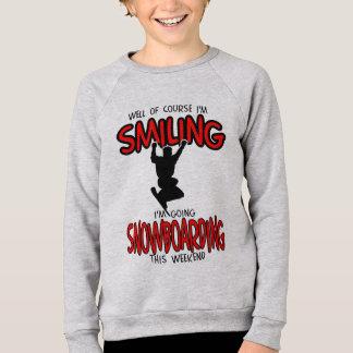 Het glimlachen SNOWBOARDING weekend 2.PNG Sweater