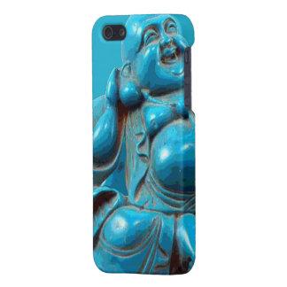 Het glimlachende Snijdende Turkoois van Boedha van iPhone 5 Case