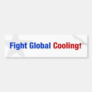 Het Globale Koelen van de strijd Bumpersticker