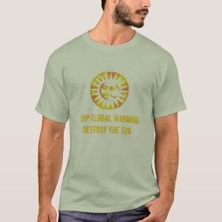 Het Globale vernietigt Verwarmen van het einde, de T Shirt