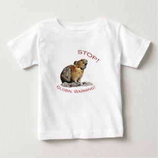Het globale Verwarmen Baby T Shirts