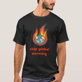Het globale Verwarmen, houdt het globale verwarmen T Shirt