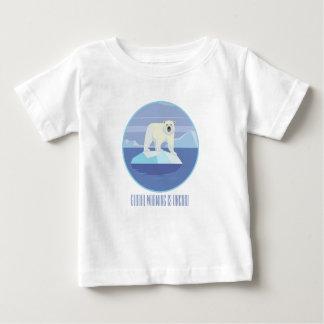 Het globale Verwarmen is Uncool Baby T Shirts