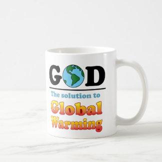 Het Globale Verwarmen van de god Koffiemok
