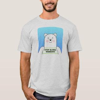Het Globale Verwarmen van het einde - Polarbear T Shirt