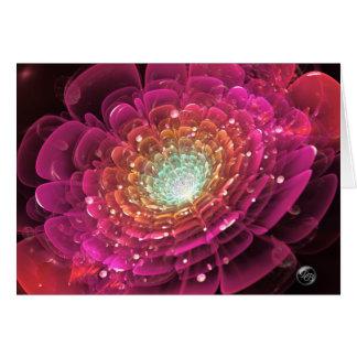 Het gloeien Roze nam in het Ruimte Unieke Digitale Kaart