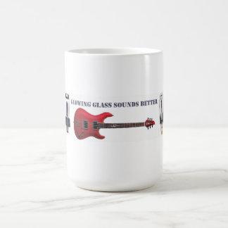 Het gloeiende Glas klinkt beter Koffiemok