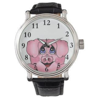 Het gluren Horloge Piggy