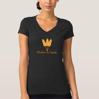 Het gluten is Smakelijke T-shirt