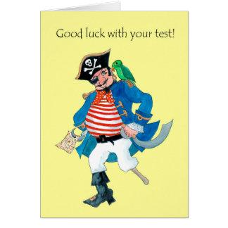 Het Goede Geluk van de Piraat en van de Papegaai Kaart