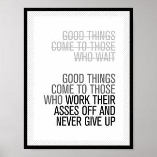 Het goede Poster van Dingen