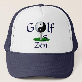 """Het """"golf is"""" pet Zen"""