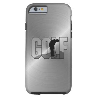 Het Golf van het staal Tough iPhone 6 Hoesje
