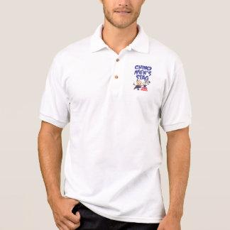 Het golfoverhemd van het Mannetje van het Mannen Polo