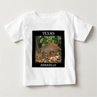 Het Gordeldier van Texas Baby T Shirts
