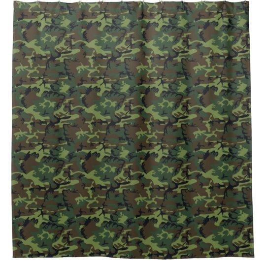 Het Gordijn van de Douche van de camouflage | Zazzle.nl