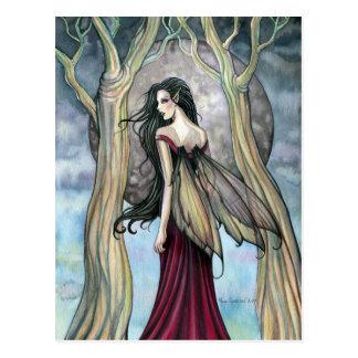 Het gotische Briefkaart van de Fee van de Nacht