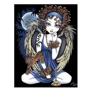 Het Gotische Briefkaart van de Kunst van de Engel Wenskaarten