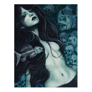 Het gotische Briefkaart van de Meermin